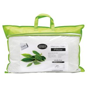 Μαξιλάρι Ύπνου 65x45cm Das Home Comfort Green Tea 1042 Memory Foam Μέτριο