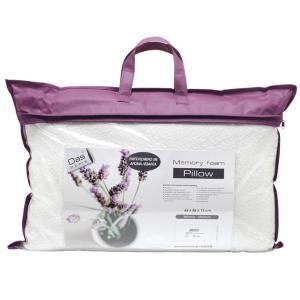 Μαξιλάρι Ύπνου 65x45cm Das Home Comfort Lavender 1043 Memory Foam Μέτριο