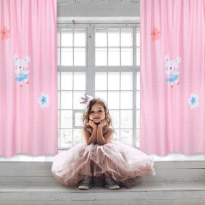 Κουρτίνα Παιδική με Θηλιές 140x260cm Das Home 6458