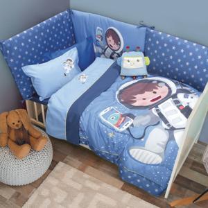 Σεντόνια Βρεφικά Σετ 120x160cm Das Home Baby Smile Embroidery 6560