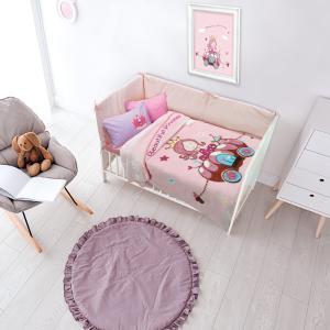 Κουβέρτα Κούνιας Velour 110x140cm Das Home Relax 6563