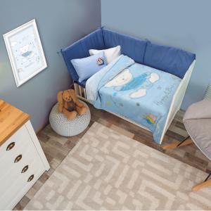 Κουβέρτα Κούνιας Velour 110x140cm Das Home Relax 6564