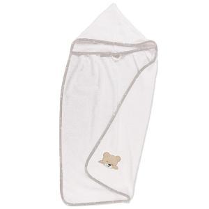 Κάπα Βρεφική 80x80cm Dimcol Sleeping Bear Cubs 10 Λευκό/Γκρι