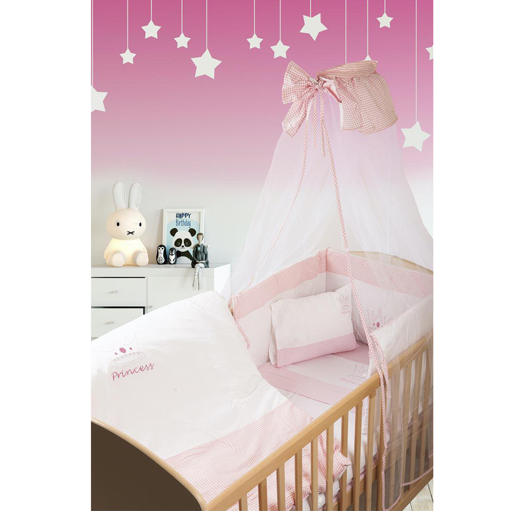 Σετ Προίκας Μωρού 7 Τεμαχίων Dimcol Princess 33