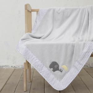 Κουβέρτα Κούνιας 110x140cm Nima Elephantino