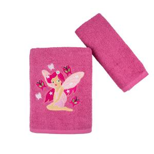 Πετσέτες Παιδικές Σετ 2 Τεμάχια Astron Fairy Tale Βαμβακερές