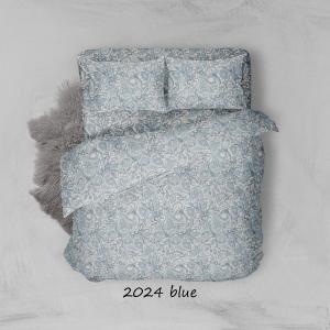 Φανελένια Σεντόνια Διπλά Σετ 200x250cm Sunshine 2024 Aqua