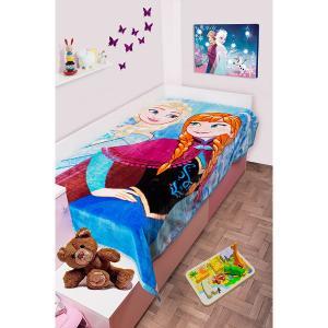 Κουβέρτα Παιδική Βελουτέ Disney 160X220cm Frozen 501