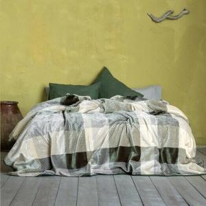 Κουβέρτα Μονή Βελουτέ 160x220cm Nima Gallant