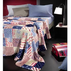 Κουβέρτα Fleece Μονή 150x220cm Nima Gap