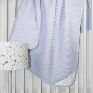 Κουβέρτα Πικέ Κούνιας Guy Laroche Heaven 110x150cm Light Blue