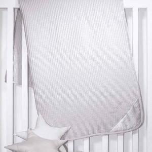 Κουβέρτα Πικέ Κούνιας Guy Laroche Heaven 110x150cm Silver