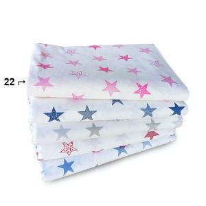 Πάπλωμα Κούνιας 120x160cm Dimcol Star 22 Λευκό/Ρόζ
