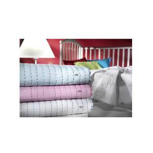 Κουβερλί Κούνιας Nima Itsy Bitsy 100x140cm Pink