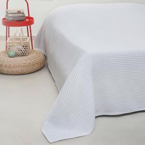Κουβέρτα Πικέ Μονή 170x240cm Melinen Patmos White