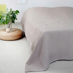 Κουβέρτα Πικέ Υπέρδιπλη 230x240cm Melinen Patmos Greige