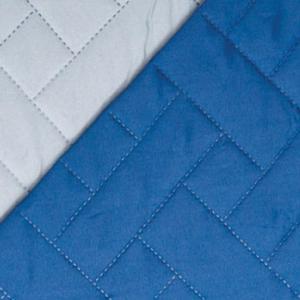 Κουβερλί Υπέρδιπλο 220x240cm Borea Plexis Μπλε-Γκρι Πολυεστέρας