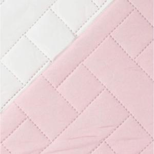 Κουβερλί Υπέρδιπλο 220x240cm Borea Plexis Ροζέ-Εκρού Πολυεστέρας