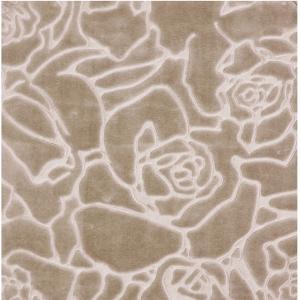 Κουβέρτα Υπέρδιπλη Βελουτέ Borea Rosalie 220x240cm Αμμου
