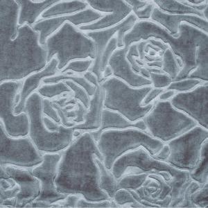 Κουβέρτα Υπέρδιπλη Βελουτέ Borea Rosalie 220x240cm Γκρι