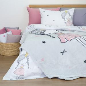 Κουβέρτα Μονή Παιδική Βελουτέ 150x220cm Borea Π-1 Chloe