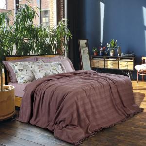 Κουβέρτα Υπέρδιπλη με Κρόσσια 230x250cm Das Home 0422