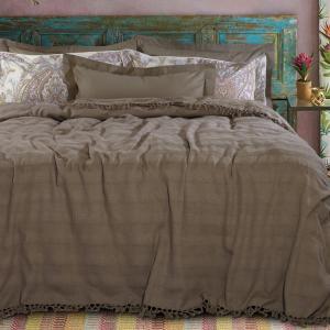 Κουβέρτα Υπέρδιπλη με Κρόσσια 230x250cm Das Home 0424