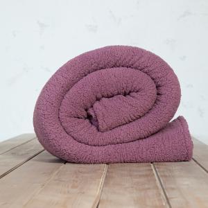 Κουβέρτα Μονή 150x220cm Nima Manta Cassis