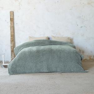 Κουβέρτα Υπέρδιπλη 220x240cm Nima Manta Dark Mint