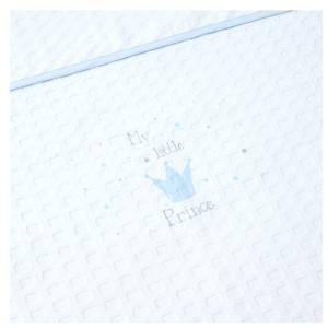 Κουβέρτα Πικέ Κούνιας 110x140cm Borea My Little Prince