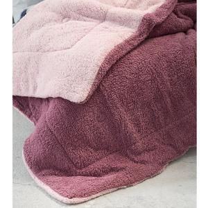 Κουβερτοπάπλωμα Υπέρδιπλο 220x240cm Nima Melt Powder Pink / Cassis