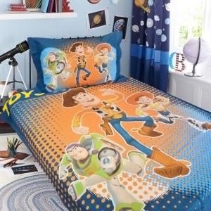Κουβέρτα Πικέ Παιδική Σετ 160x220cm Limneos Disney Toy Story