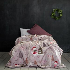 Κουβέρτα Μονή Παιδική Βελουτέ 160x220cm Nima Little Red Riding Hood