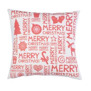 Διακοσμητικό Μαξιλάρι Χριστουγεννιάτικο σχέδιο 45x45 Borea  101 Merry Christmas