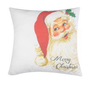 Διακοσμητικό Μαξιλάρι Χριστουγεννιάτικο σχέδιο 45x45 Borea  102 Άγιος Βασίλης