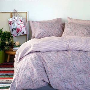 Παπλωματοθήκη Υπέρδιπλη 225x245cm Melinen UltraLine Aquarella Lilac-Pink