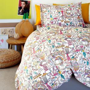 Μαξιλαροθήκες Παιδικές Ζεύγος 50x70cm Melinen Dream Maker Girl Βαμβακερές