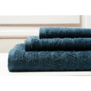 Πετσέτα Χεριών 30x50 Melinen Towels  Μπλε Σκούρο