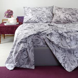 Σεντόνια Υπέρδιπλα Σετ 235x270cm Melinen Ultra Brooks Grey/Lilac