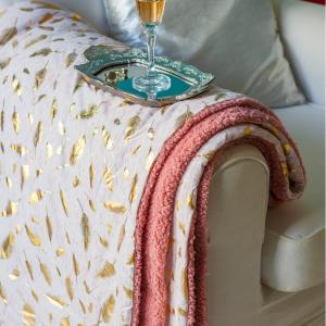 Κουβέρτα Καναπέ 130x170 Melinen Sparkle Rose