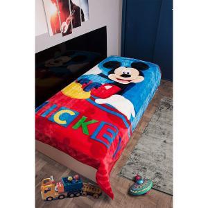 Κουβέρτα Παιδική Βελουτέ Disney 160X220cm Mickey 561