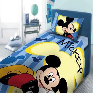 Σεντόνια Μονά Σετ 3τμχ Dimcol Mickey 963