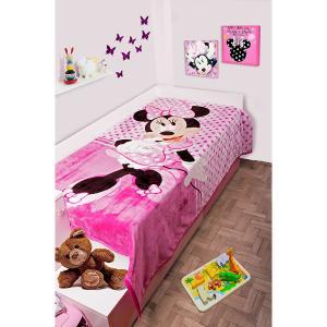 Κουβέρτα Παιδική Βελουτέ Disney 160X220cm Minnie 551