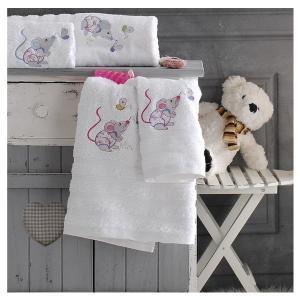 Πετσέτες Παιδικές Σετ 2τμχ Rythmos Mouse