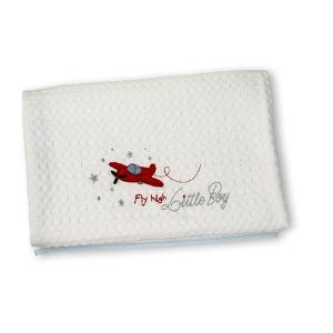 Κουβέρτα Πικέ Κούνιας 110x140cm Nima Fly High