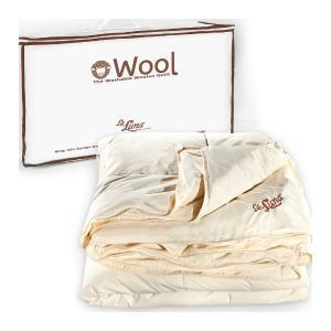 Πάπλωμα Μάλλινο Υπέρδιπλο La Luna Wool Natural Duvet 220x240cm