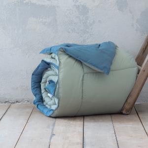 Πάπλωμα Μονό 160x240cm Nima Abalone Mint / Blue