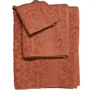Πετσέτα Προσώπου 50x100cm Bomdia Classic JS540  Κεραμιδί