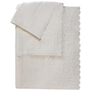 Πετσέτα Προσώπου 50x100cm Bomdia Classic JS541 Λευκό