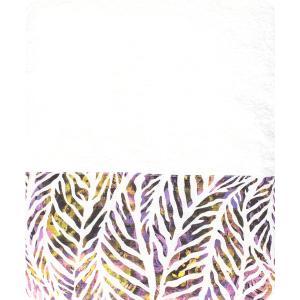 Πετσέτα Θαλάσσης 90x150cm Borea Cameroon Λευκό Βαμβακερή